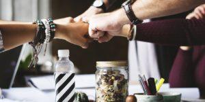 lavorare come fundraiser-insieme per un progetto comune